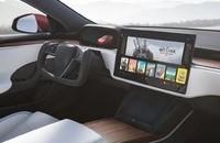 用中控台显示屏换档你可以接纳吗,特斯拉汽车 Model S/X 换档方法曝出